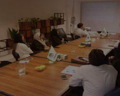 جلسه آموزش فروش و بازاریابی برگزار شده در تاریخ 98/4/17 ویژه مخاطبین مدیربان